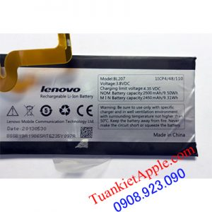 Pin Battery Lenovo BL207 2500mAh-K900-Vibe Z