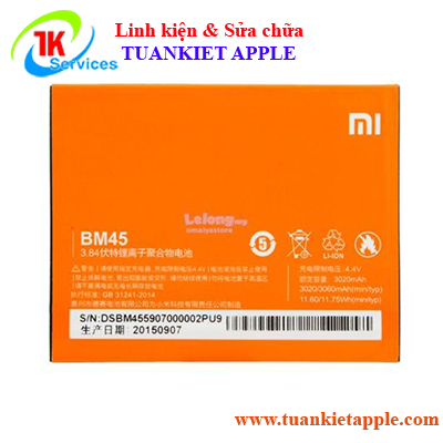 Pin Xiaomi Redmi Note 2 BM-45 3020mAh