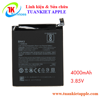 Pin Xiaomi Redmi Note 4x BN-43 4000mAh