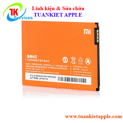Pin Xiaomi Redmi Note BM-42 3100mAh