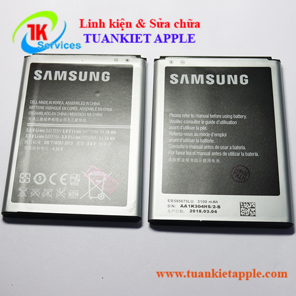 Pin Samsung Note 2 (EB595675LA)