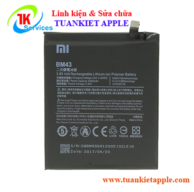 Pin Xiaomi Redmi Note 4x (BM43)