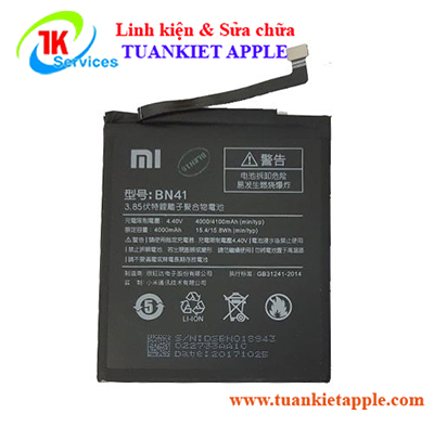 Pin Xiaomi Redmi Note 4 (BN41)