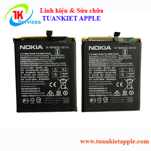 Pin Nokia 8.1 Plus